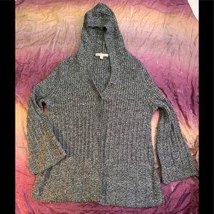 Debbie Morgan Hooded Cardigan Sweater